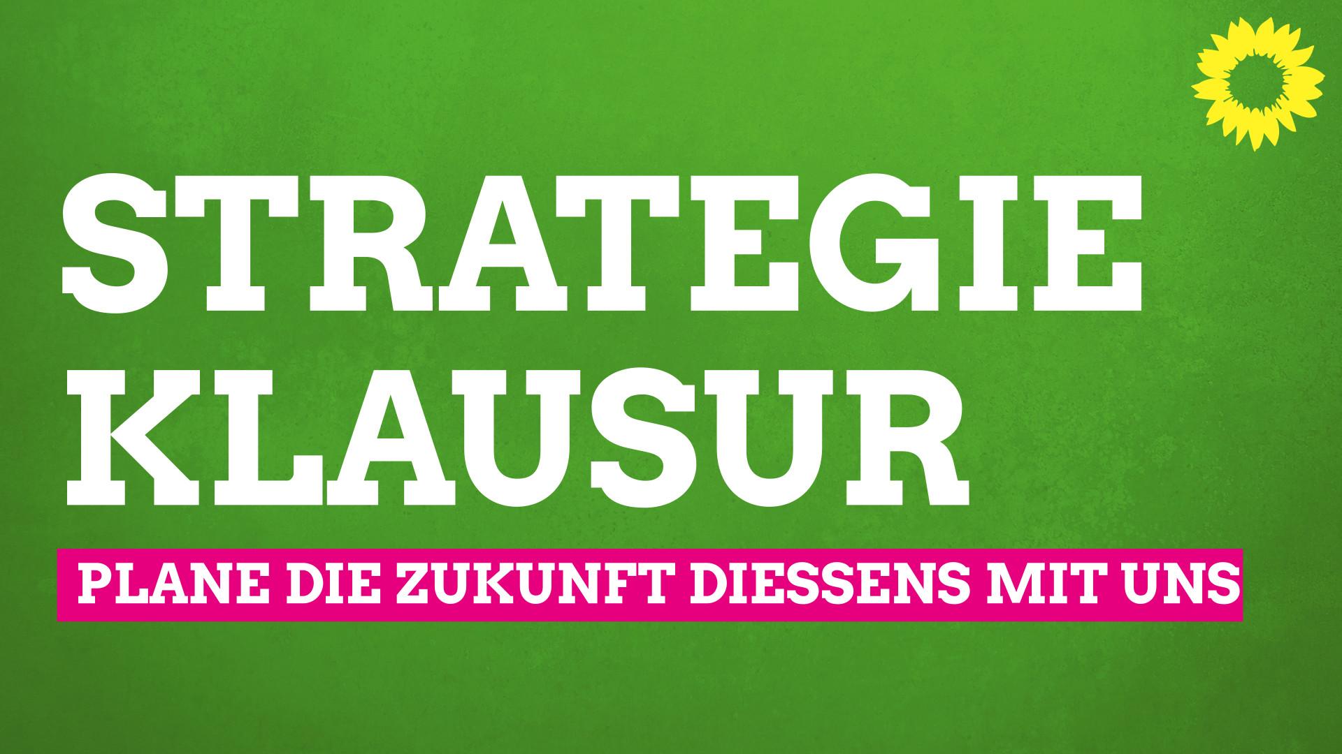 Virtuelle Strategieklausur der Grünen Dießen