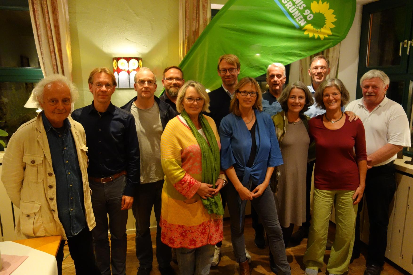 Grüne Gemeinderatsliste aufgestellt!