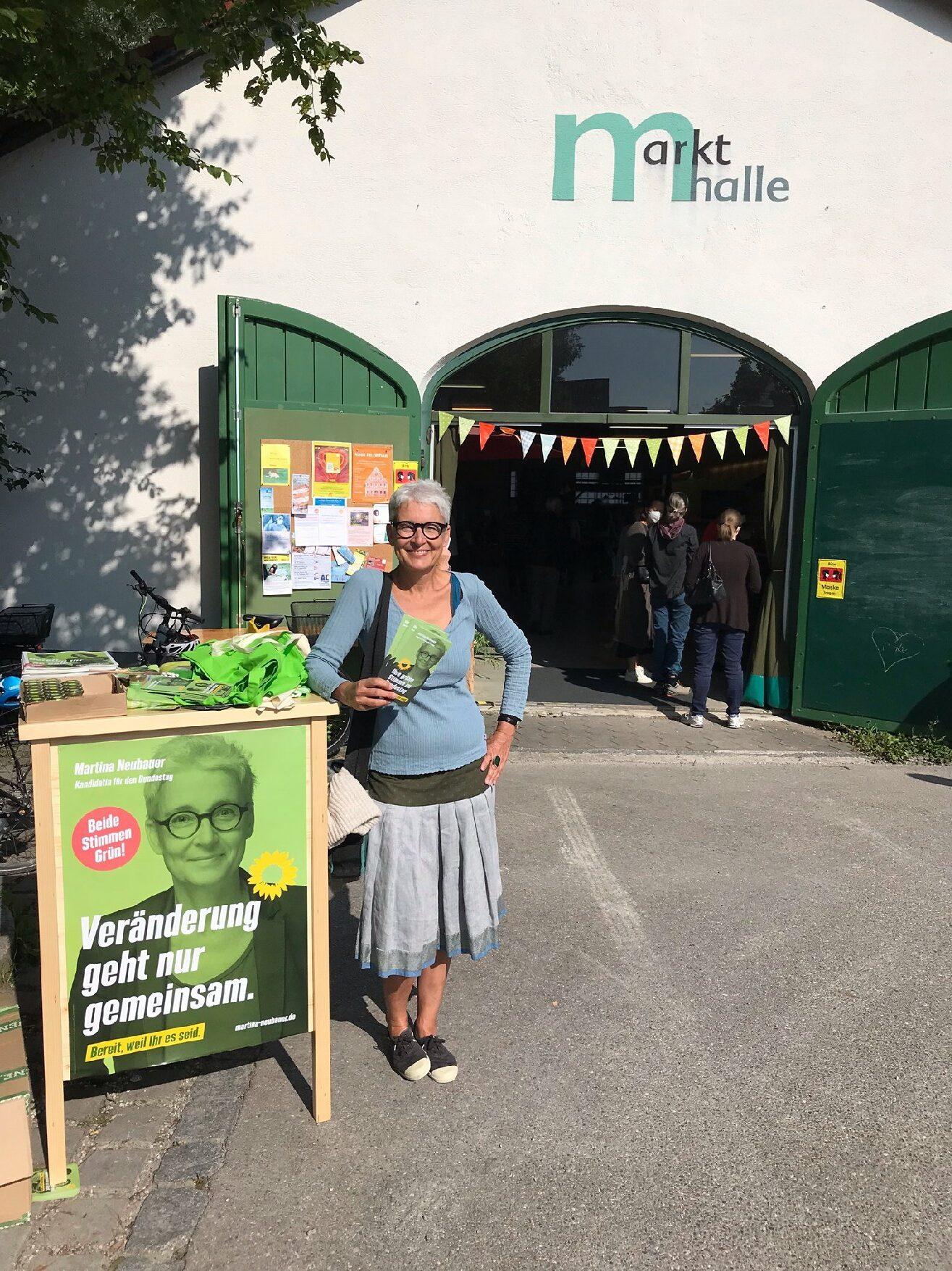 Martina Neubauer: Wahlkampf in Dießen
