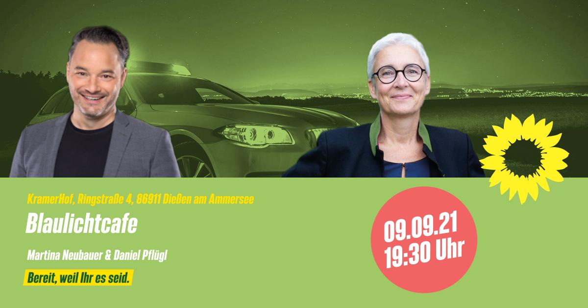 Blaulichtcafé mit Martina Neubauer und Daniel Pflügl
