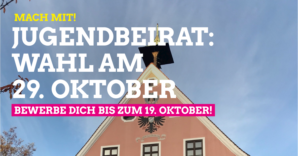 Jugendbeirat: Wahl am 29. Oktober