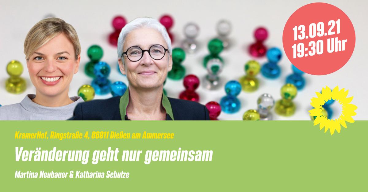 Grünes Forum mit Katharina Schulze und Martina Neubauer